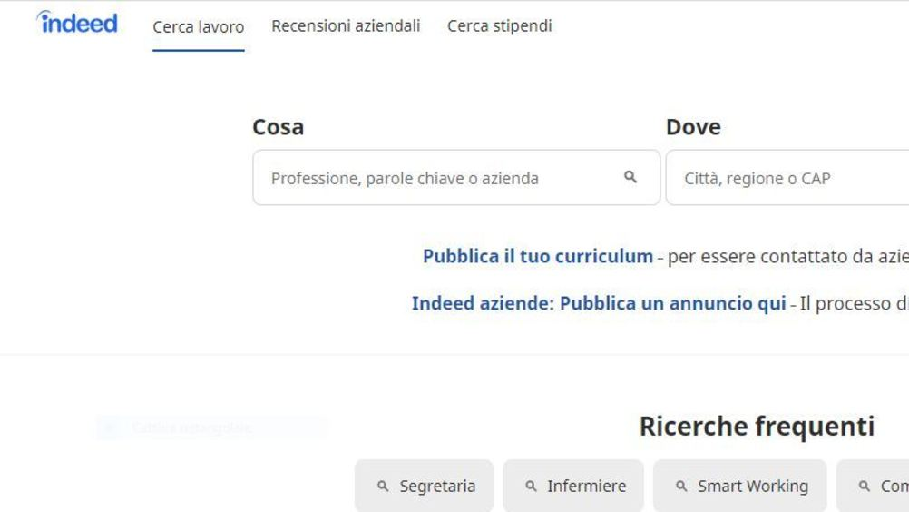 Indeed: al via i Virtual Hiring day in Italia