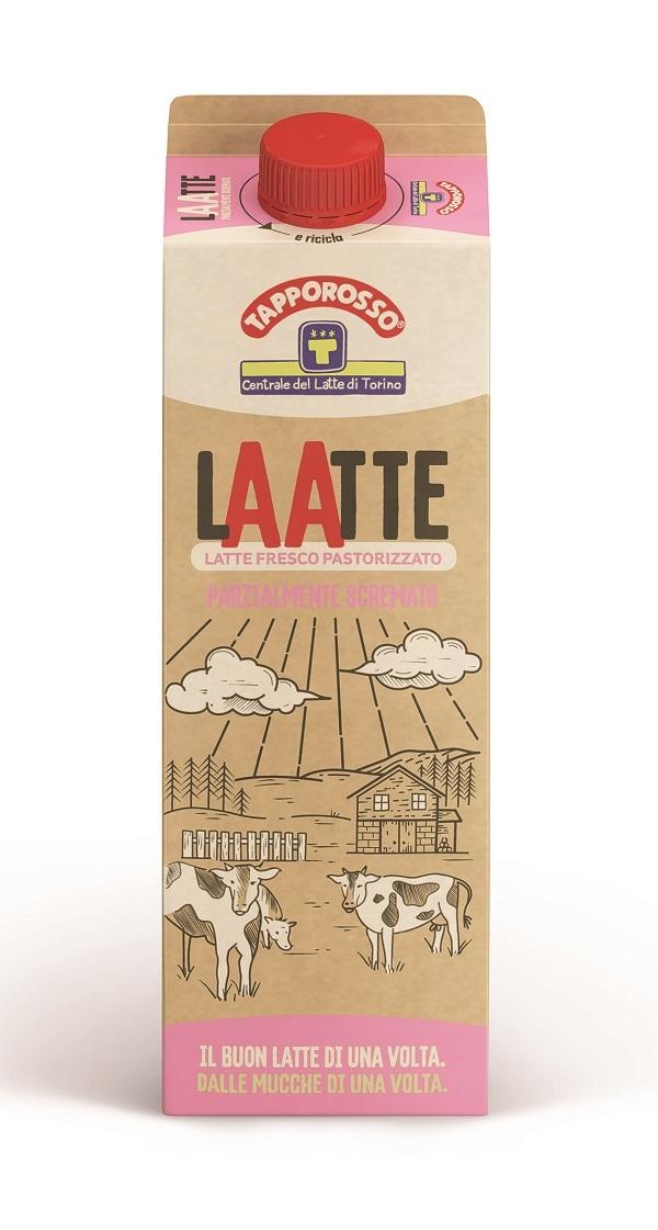 Centrale del Latte di Torino lancia Tapporosso LAATTE