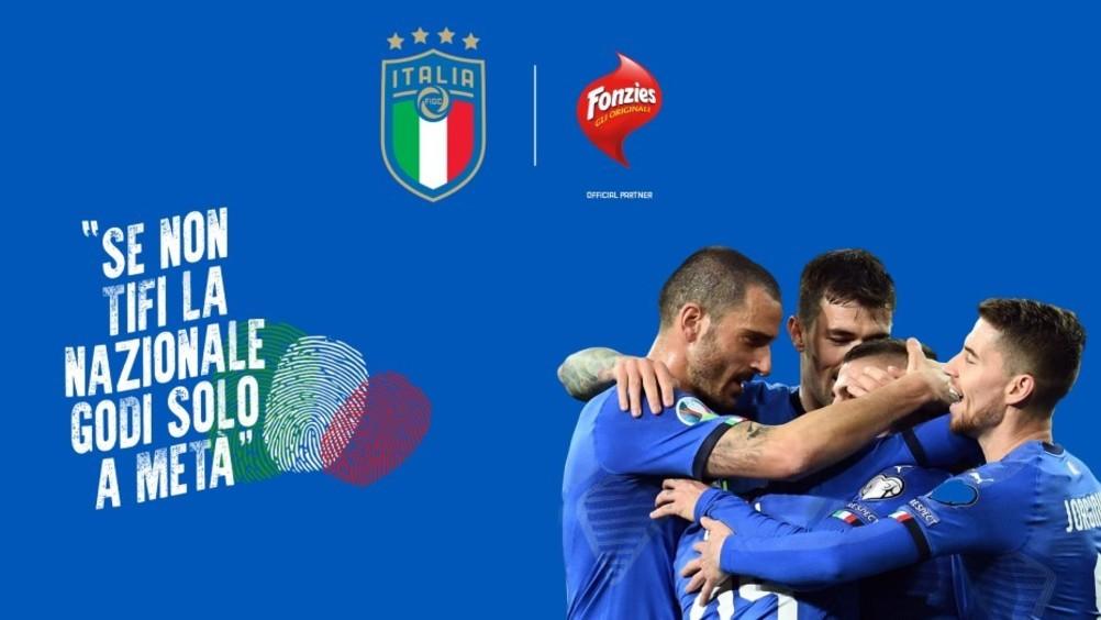 Fonzies tifa partner ufficiale delle nazionali di calcio per il triennio 2020-2022