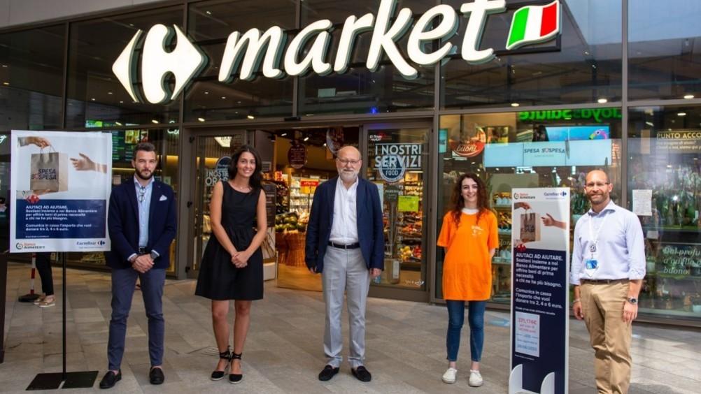 """Carrefour e progetto """"Spesa SOSpesa"""": in due 2 mesi oltre 500.000 euro"""