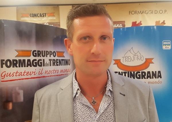 Stefano Albasini nuovo presidente di Trentingrana Concast