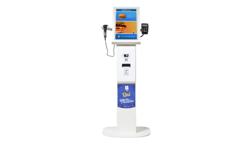 Custom lancia Mate Up, il self-order kiosk per i pdv del retail