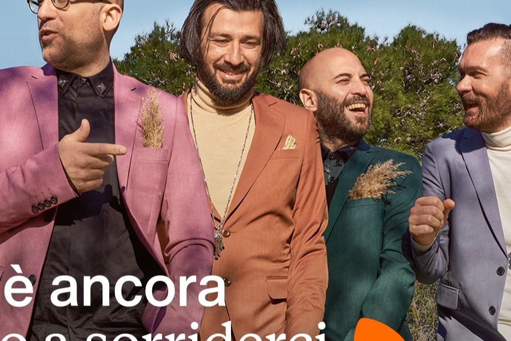 Zalando veste i Negramaro sul palco di Sanremo 2021