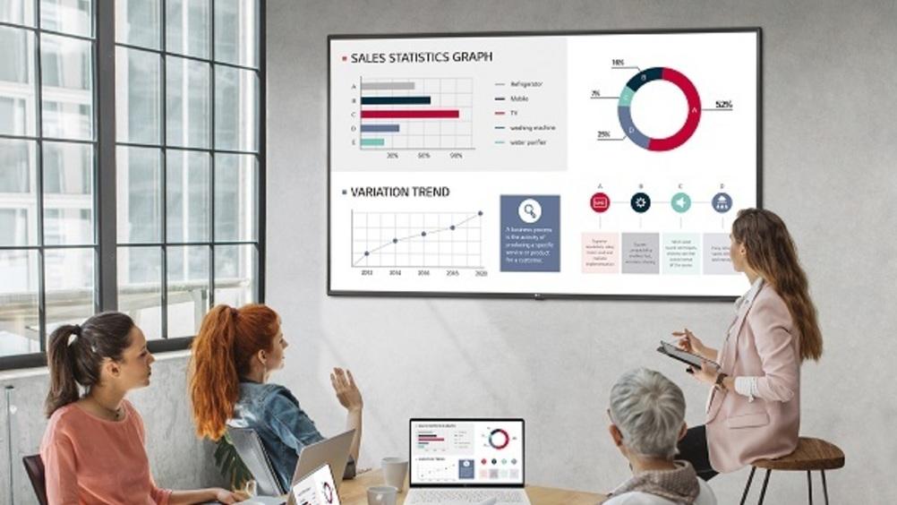 Lg propone nuovi monitor signage ultra hd