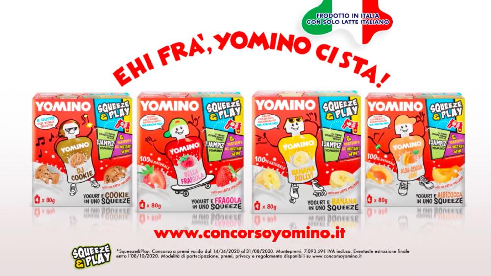 Granarolo: on air la nuova campagna di comunicazione dedicata a Yomino