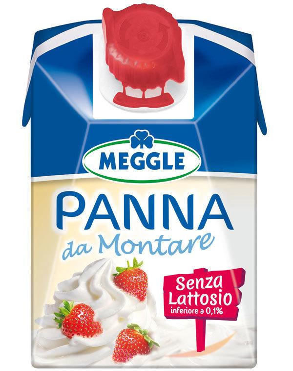 Meggle dedica agli intolleranti al lattosio la Panna da montare
