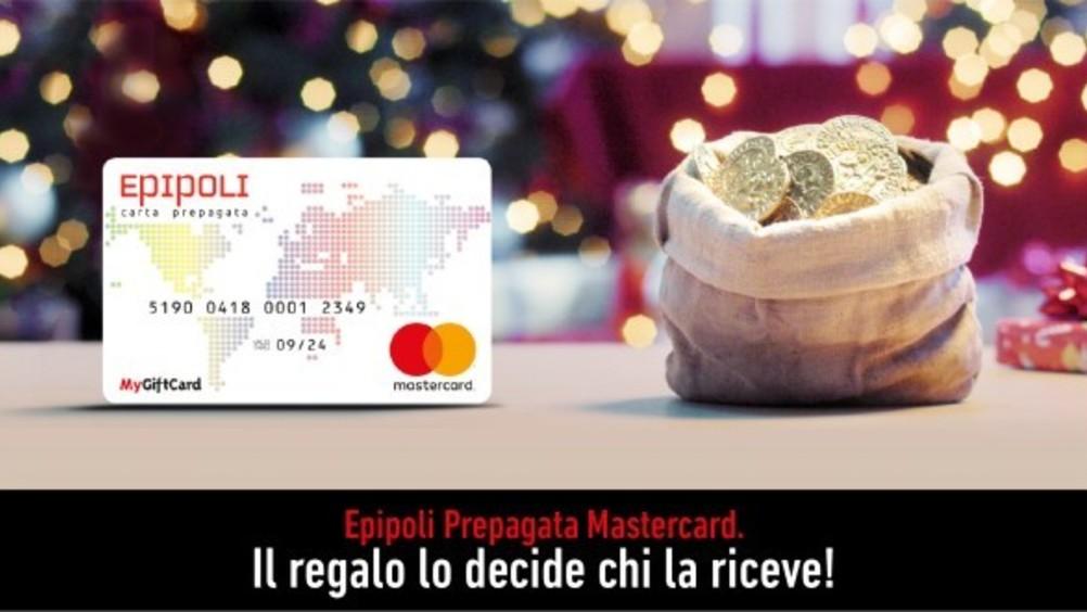 Epipoli prepagata Mastercard: al via la campagna di comunicazione di Natale