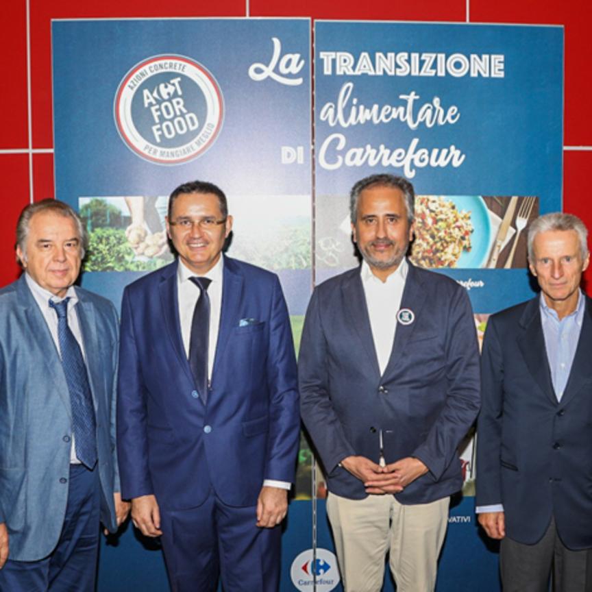 """Carrefour Italia presenta la strategia """"Transizione Alimentare"""""""