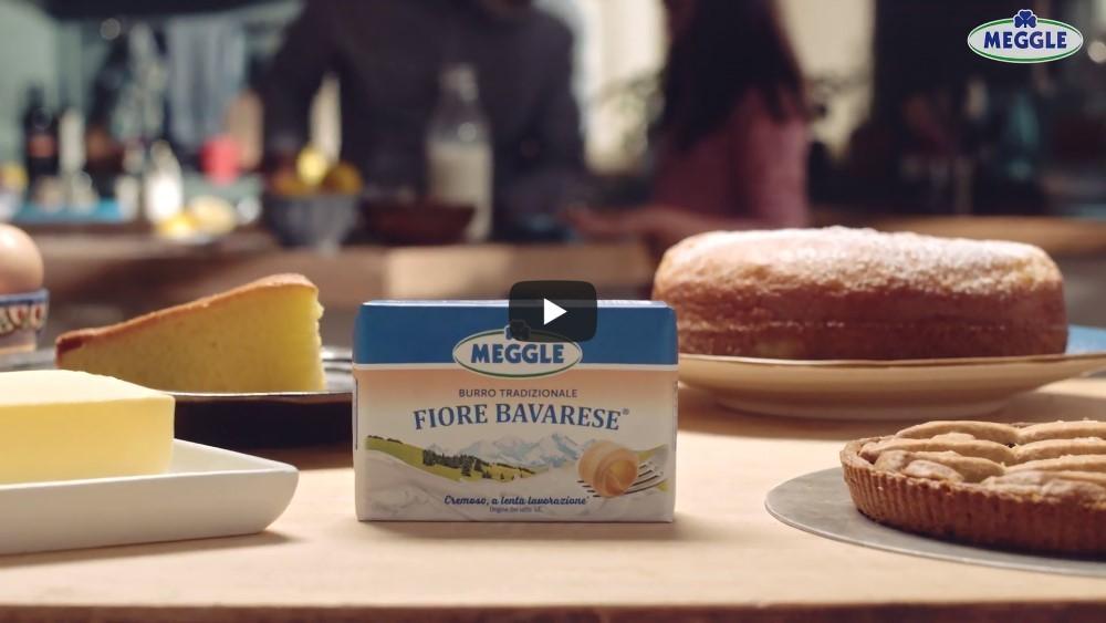 Meggle è in onda con il nuovo spot TV sul burro tradizionale Fiore Bavarese