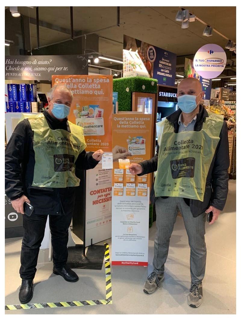 Carrefour al fianco del Banco alimentare per sostenere la colletta 2020