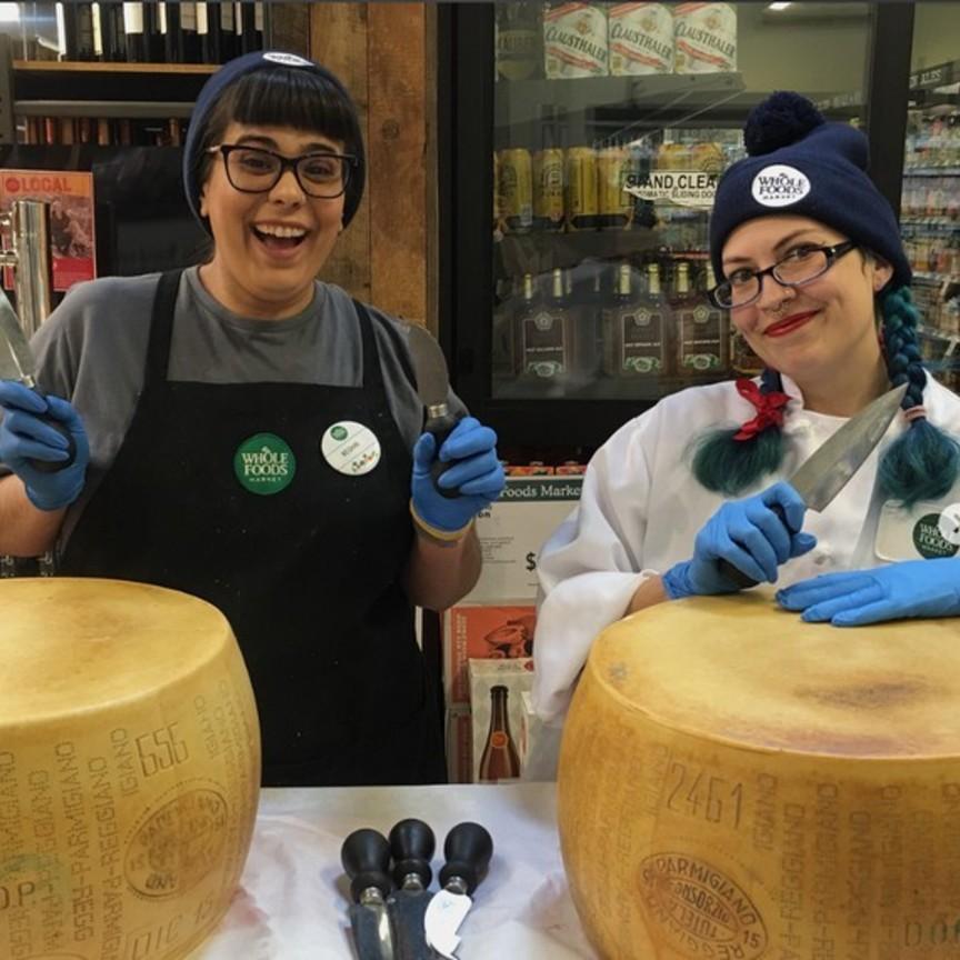 Il Consorzio Parmigiano Reggiano si allea con Whole Foods
