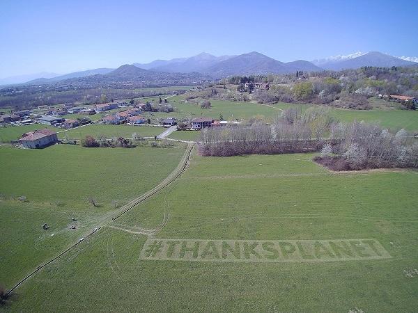 Saclà sostiene l'ambiente con #ThanksPlanet
