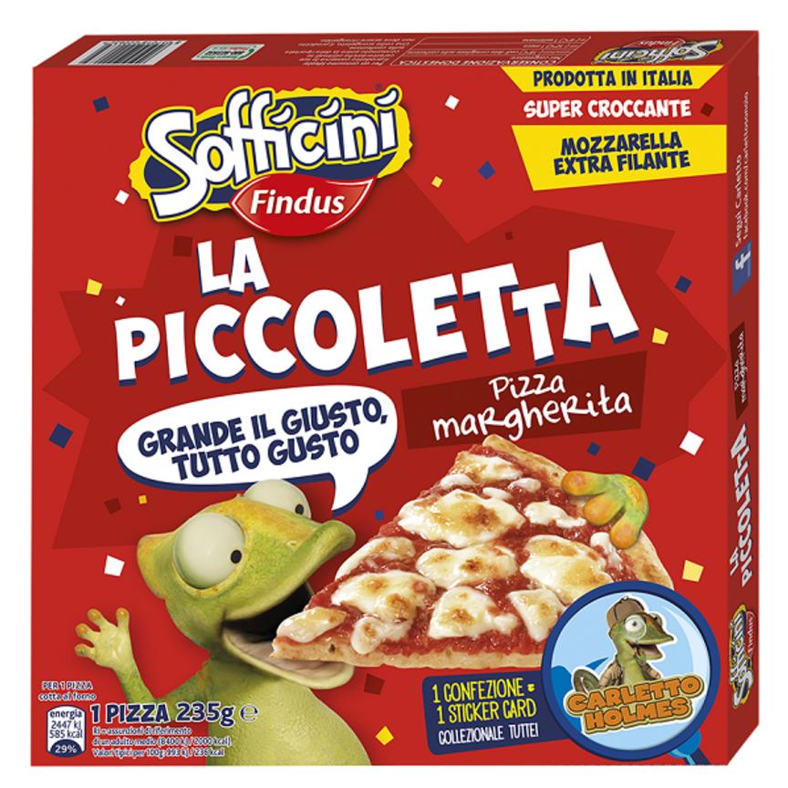 Sofficini Findus lancia la Pizza Piccoletta e la Pizza Sofficiosa