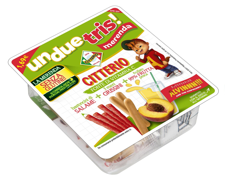 "Citterio presenta ""UnDueTris Merenda"", una merenda ideale per i bambini"