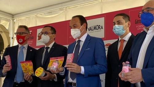 Biraghi, Raspini e Valmora supportano il Giro d'Italia 2021