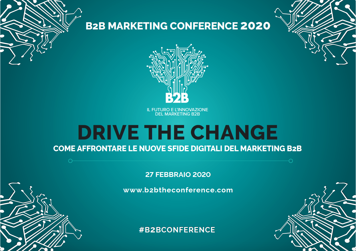 B2B Marketing Conference 2020: drive the change