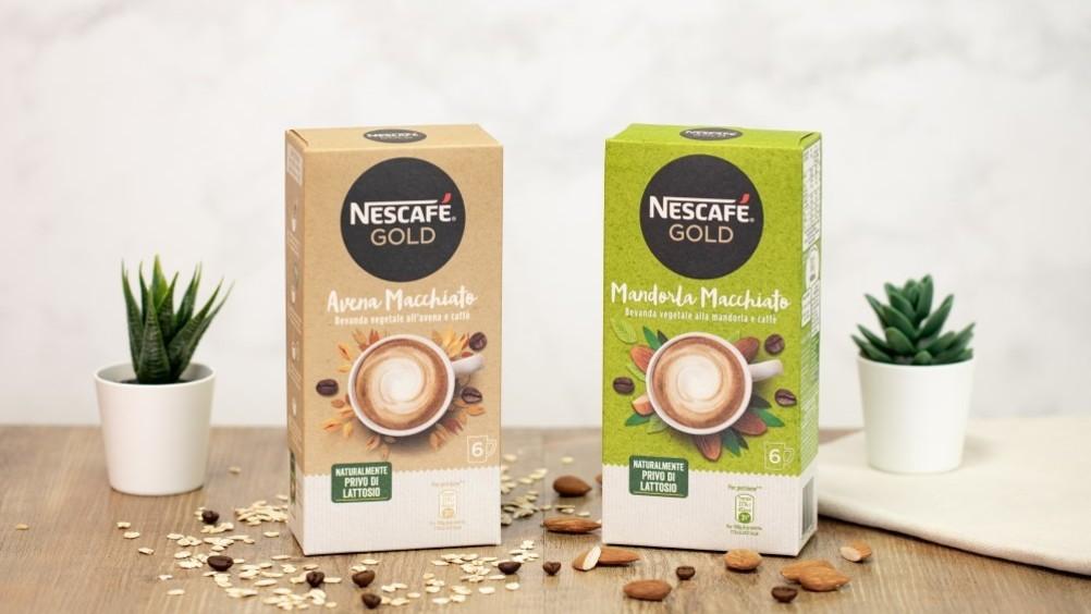 Nescafé presenta la nuova gamma di bevande vegetali solubili con caffè