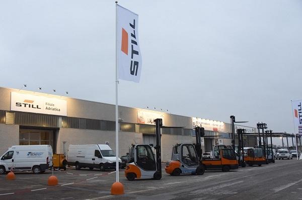 Still inaugura la nuova sede della filiale adriatica
