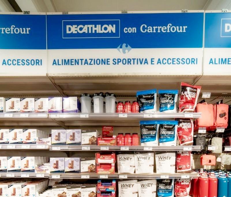 Da Carrefour Italia arrivano le 'isole' Decathlon