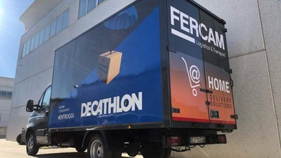 Il servizio Home Delivery di Fercam prosegue senza soste!