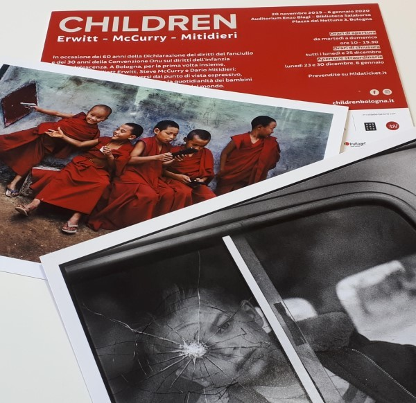 "Fruttagel supporta la mostra ""Children"""