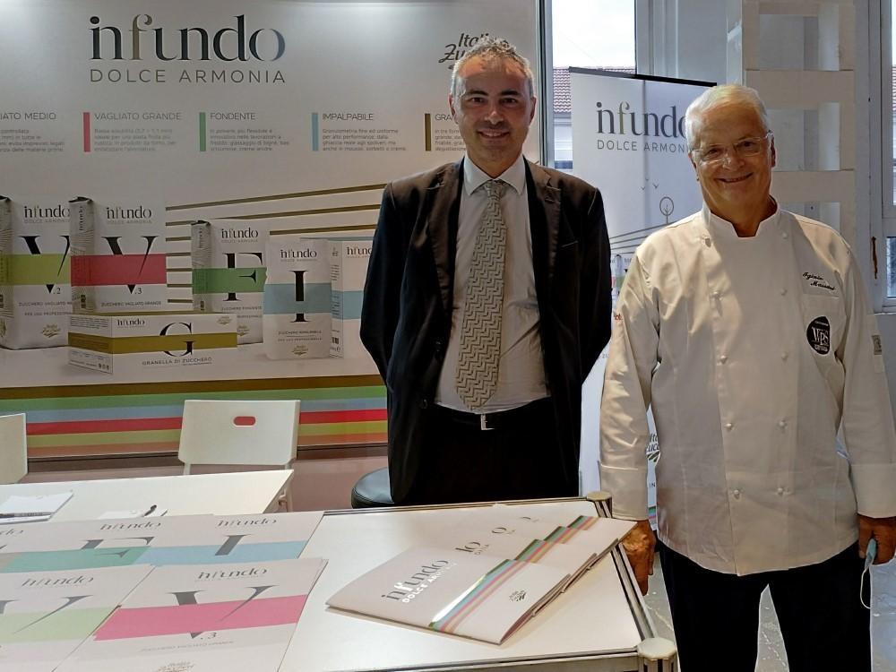 Italia Zuccheri a World Pastry Stars 2021 con Infundo