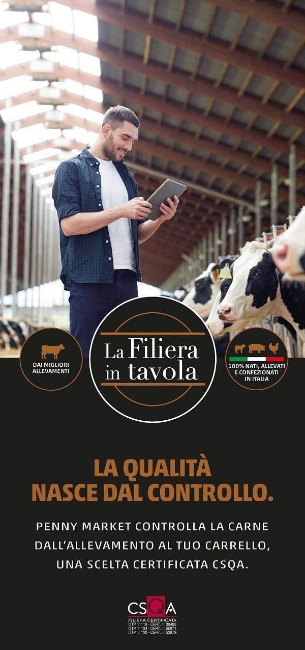 """Penny Market rilancia il marchio privato """"La Filiera in Tavola"""""""
