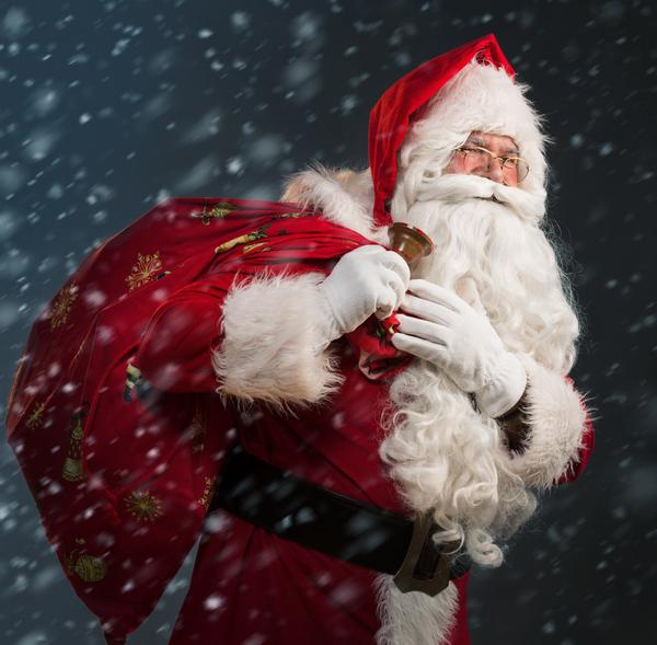 Un sacco più panciuto per Babbo Natale