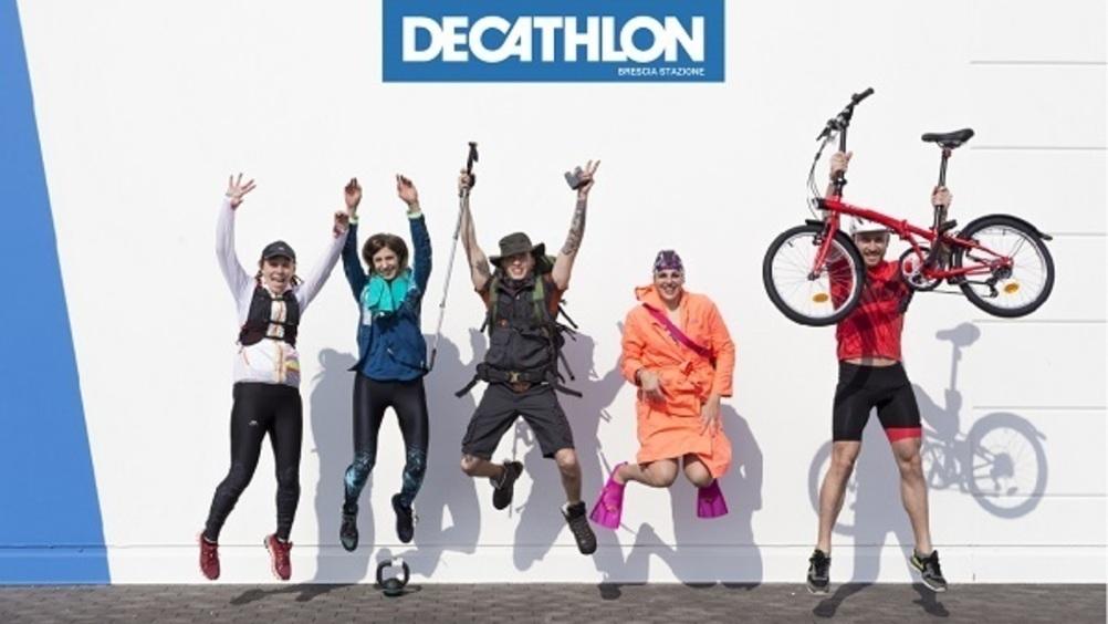 Decathlon cresce in Italia e all'estero
