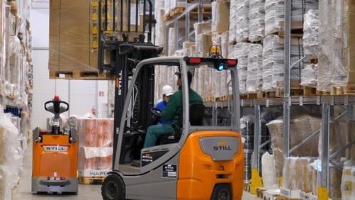Parmacotto si avvale per la logistica dei carrelli Still