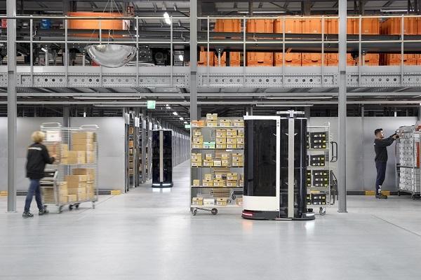 Zalando rende operativi i due robot logistici Toru