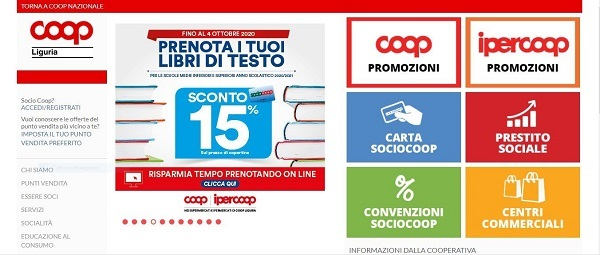 Coop Liguria: utile per 16 milioni di euro nel 2019