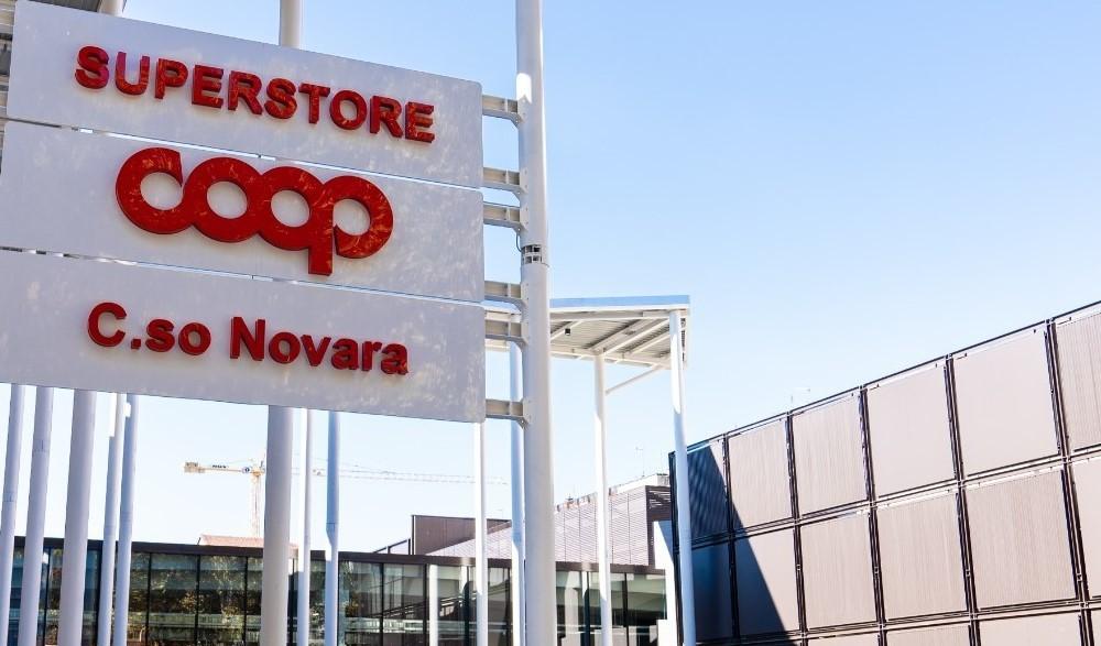 Coop un nuovo superstore  in corso Novara a Torino