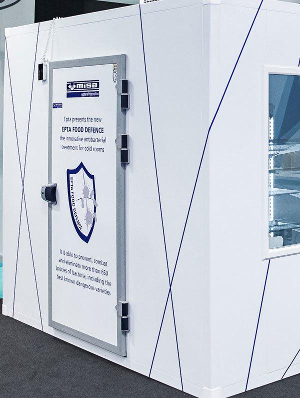 Epta propone un innovativo trattamento antibatterico per celle refrigerate