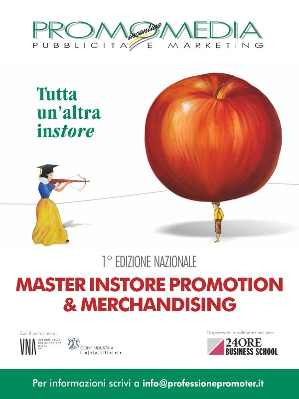 Promomedia lancia il primo Master per professionisti dell'Instore Promotion & Merchandising