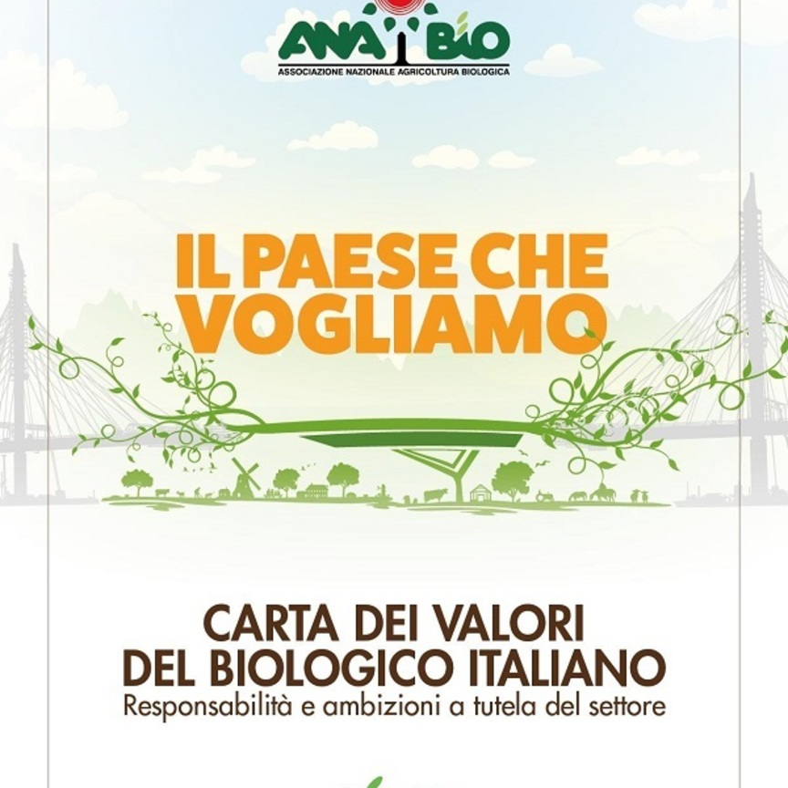 Biologico: Anabio-Cia, arriva la Carta dei valori a tutela del settore
