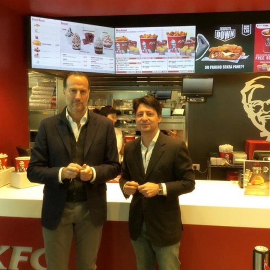 KFC apre a Curno e annuncia 20 aperture nel 2018