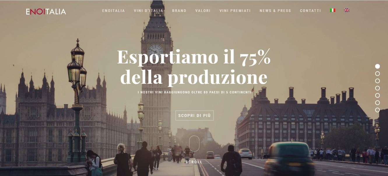 Enoitalia, lancia la vendita online dei suoi vini con Enowinery.it
