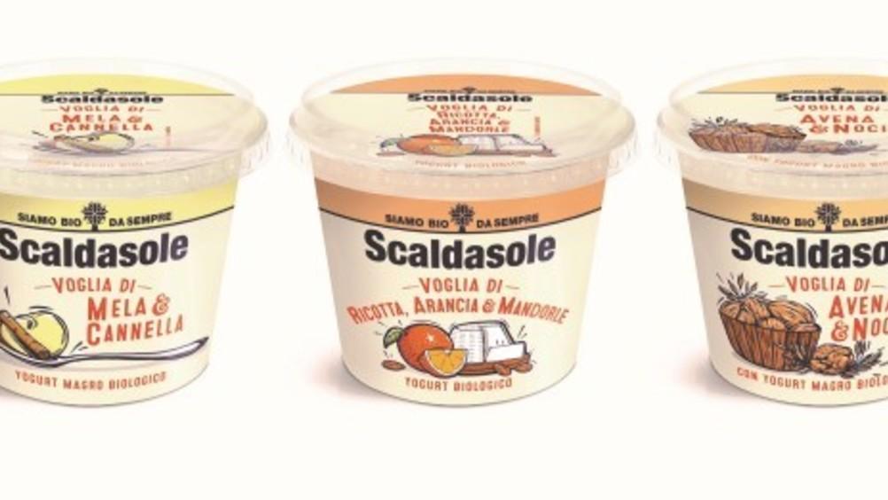 Scaldasole presenta una linea di yogurt magri e biologici