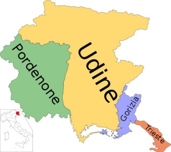 E' il Friuli VG la regione commercialmente più affollata
