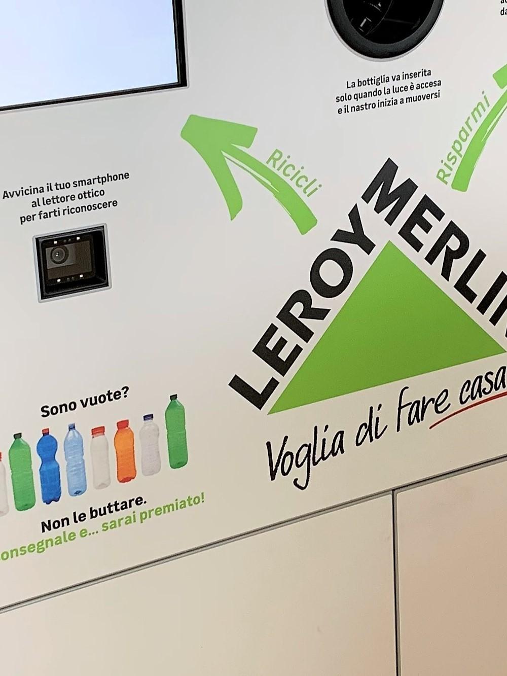 Leroy Merlin e Coripet invitano gli anconetani a riciclare le proprie bottiglie in Pet