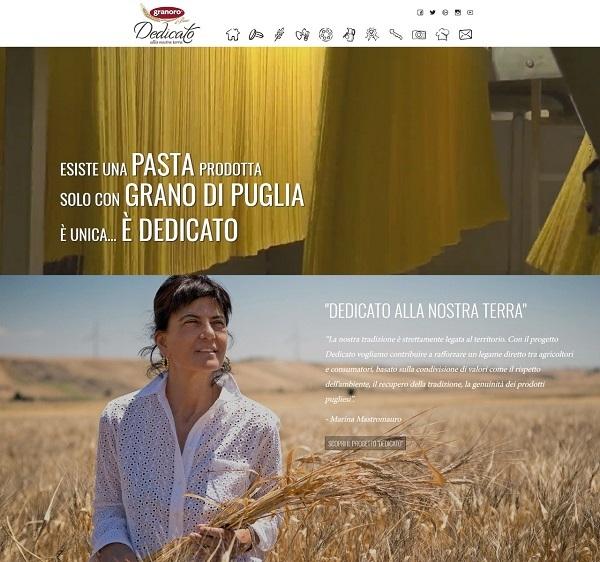 Granoro, è online il sito web che dà voce alla filiera