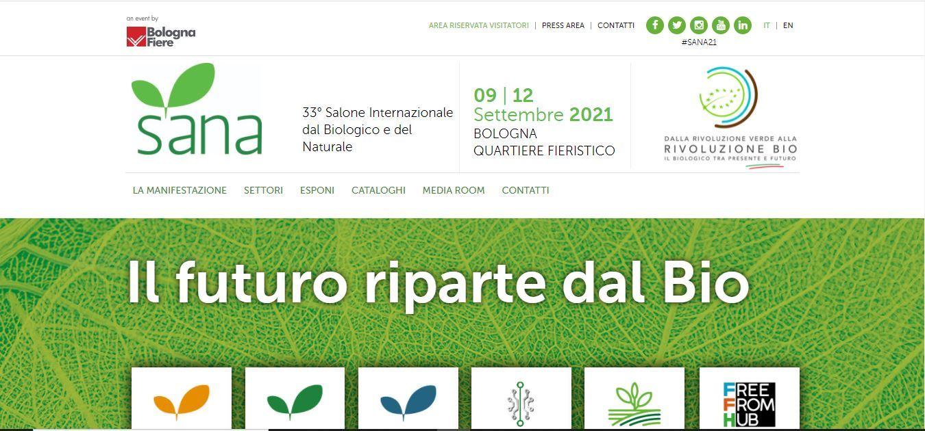 Sana 2021 dà appuntamento a Bologna dal 9 al 12 settembre 2021
