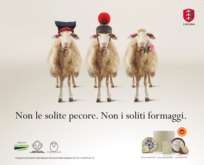 I 3 Pecorini D.O.P.: eccellenze e tipicità della Sardegna*
