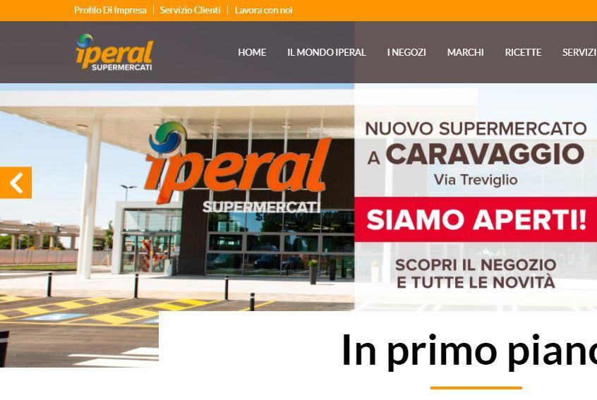 Iperal: nuovo punto vendita a Caravaggio (Bg)