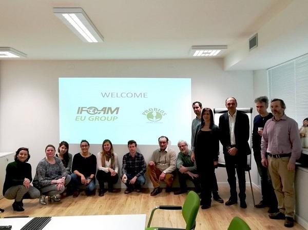 AssoBio incontra le Associazioni del biologico europeo