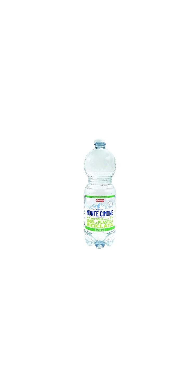 Coop: arriva la nuova bottiglia sostenibile di acqua a marchio dell'insegna