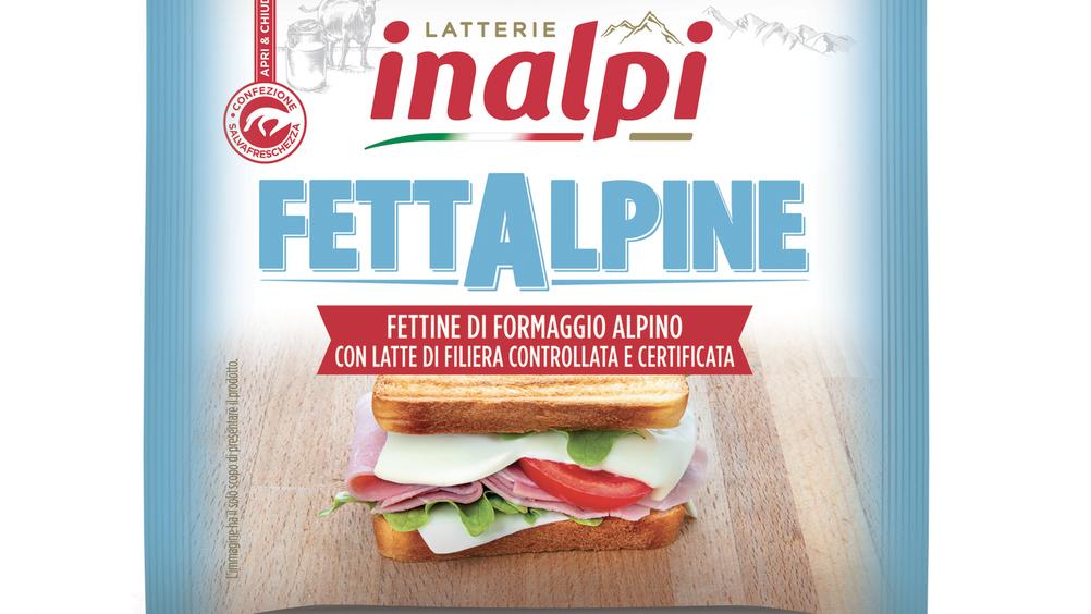 FettAlpine e Burro di Filiera, il nuovo look di Latterie Inalpi