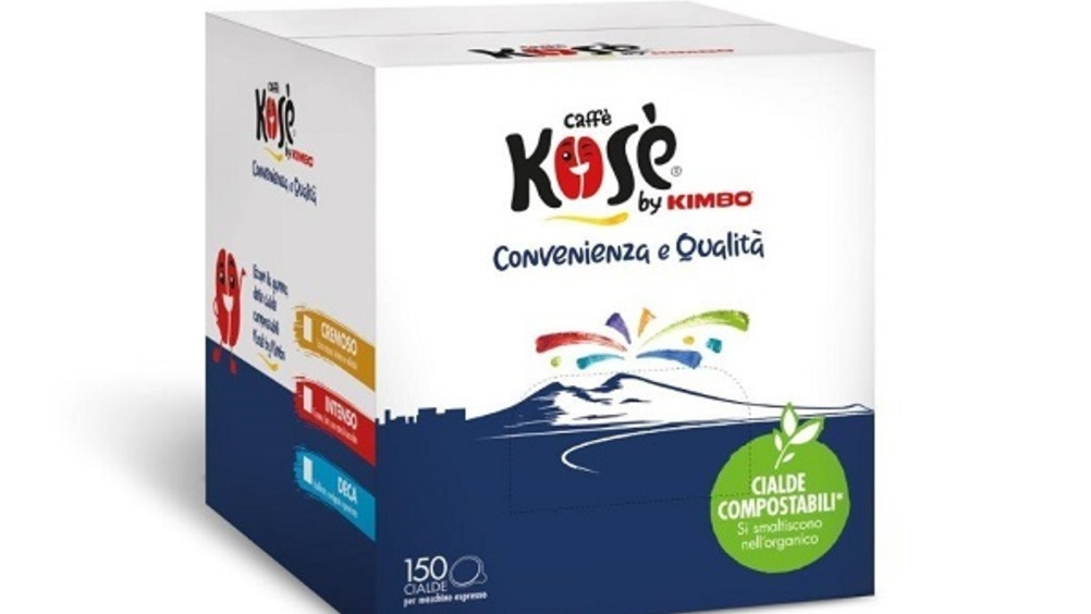 Caffè Kosè cambia look con un restyling del packaging