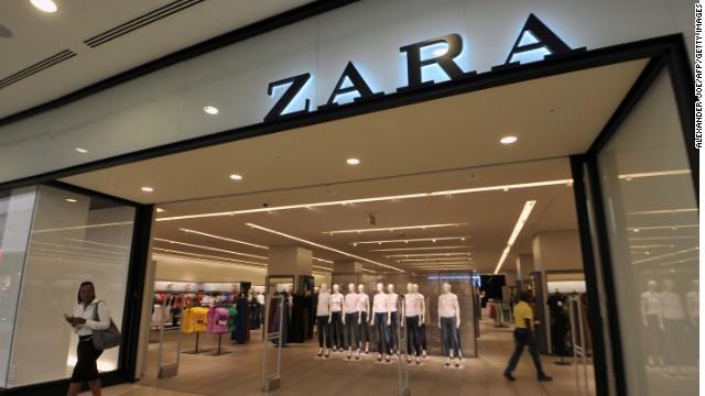Zara: in Spagna arrivano le prime casse self service